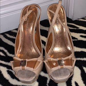 BCBG Nude/Light Pink Heels